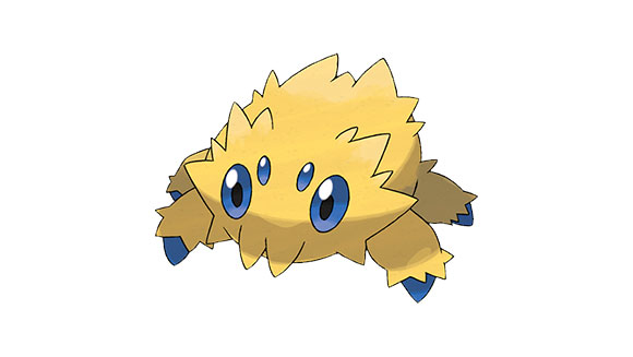 Joltik-Artwork-Smallest-Pokemon-Nintendo