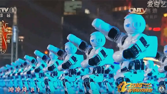 Most robots dancing simultaneously header