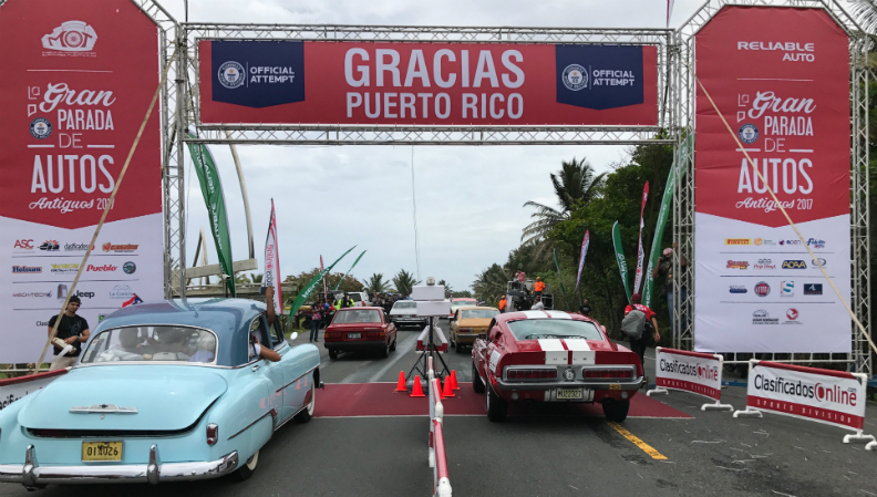 Largest parade of classic cars 3