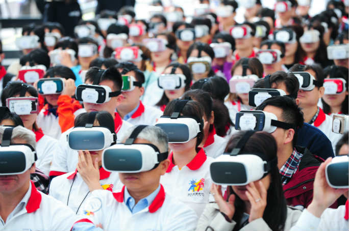 Most people using virtual reality displays 5